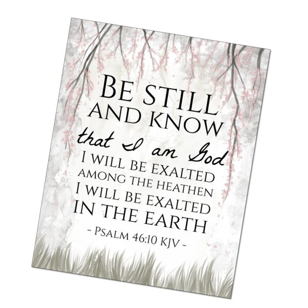 Fan image with printable bible verses kjv