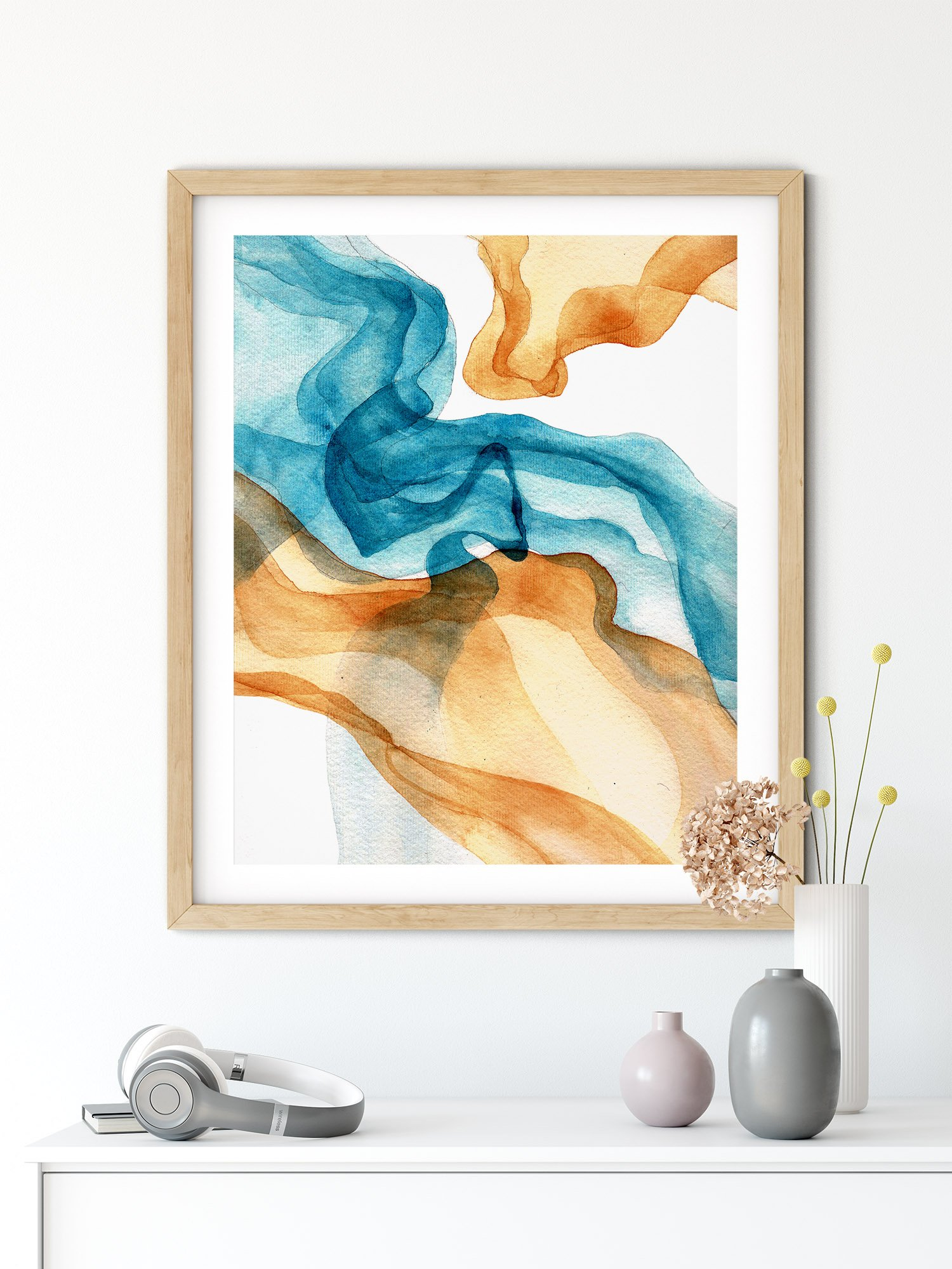 gold-blue-watercolor-wall-decor-accent