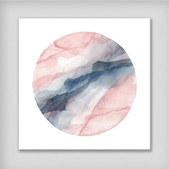 watercolor-abstract-painting-slate-blue-blush-peach